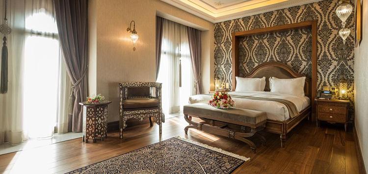 Отели Стамбула 5 звезд в центре города: Ajwa Hotel Sultanahmet.