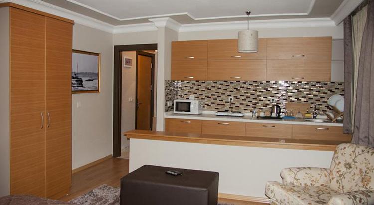 Апарт отели в центре Стамбула: Cihangir Ceylan Suite.