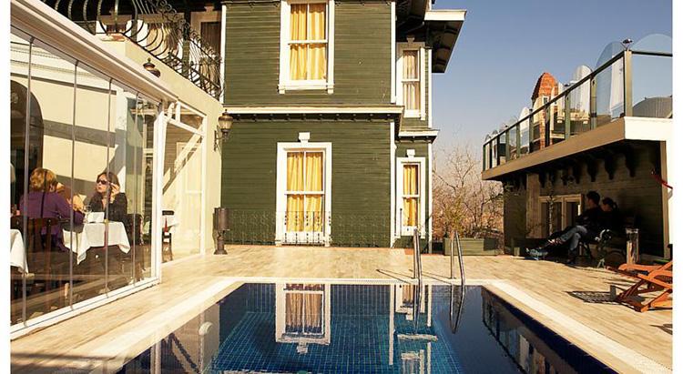 Отели в центре Стамбула с бассейном на крыше: HHK Hotel