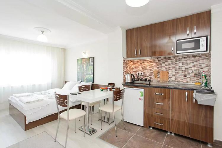 Апарт отели в центре Стамбула: Han Apartments.