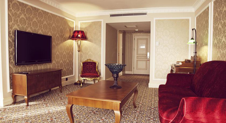 Отели Стамбула на Мраморном море рядом с пляжем: Hotel Suadiye.