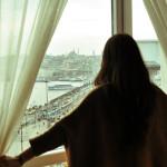 Апарт отели в центре Стамбула с видом на Босфор. Нарежу салатик, на море любуясь!
