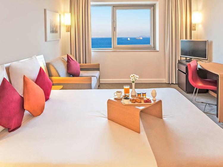 Отели Стамбула 4 звезды с видом на море: Novotel Istanbul