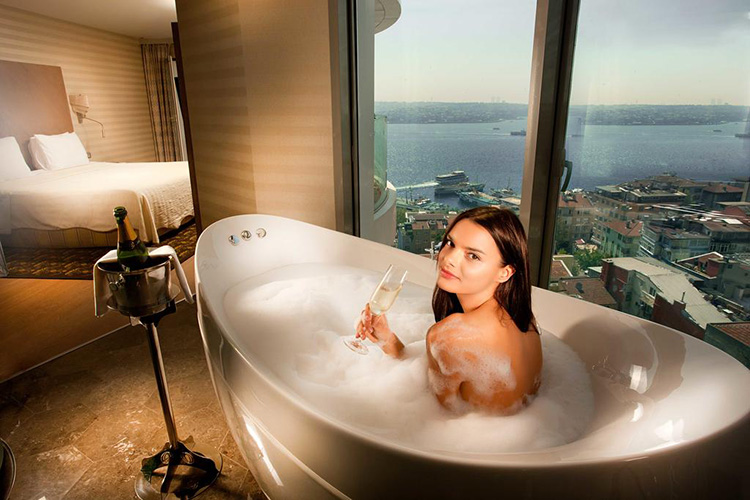 Отели Стамбула 4 звезды на берегу моря: Opera Hotel Bosphorus.
