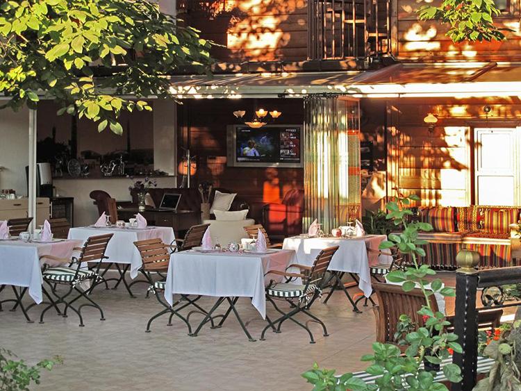 Отели Стамбула, где разрешено размещение и проживание с домашними животными. На фото: Rose Garden Suites.