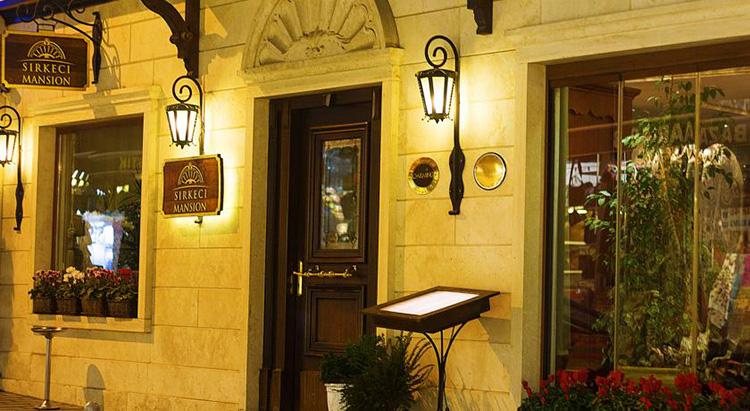 Отели Стамбула 5 звезд в центре города: Sirkeci Mansion