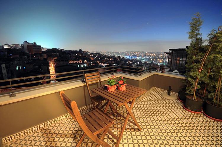Отели Стамбула с панорамным видом в центре: T-Loft Residence