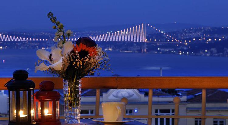 Апарт отели в центре Стамбула с видом на Босфор: Urban Suites