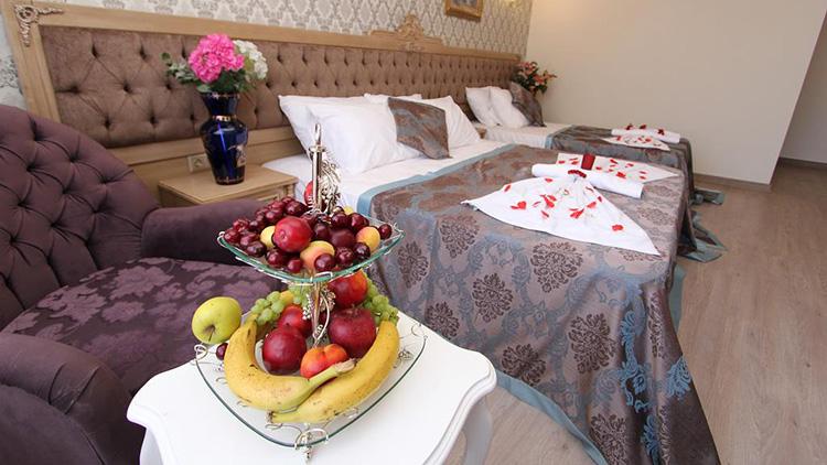 Недорогие отели в центре Стамбула 3 звезды с завтраками: Apple Tree Hotel.