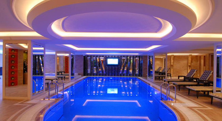 Отели Стамбула в районе Лалели с бассейном: Mosaic Hotel.