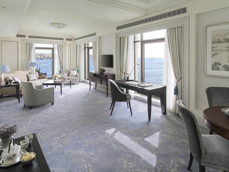 Отели Стамбула 5 звезд у моря: Shangri La Bosphorus
