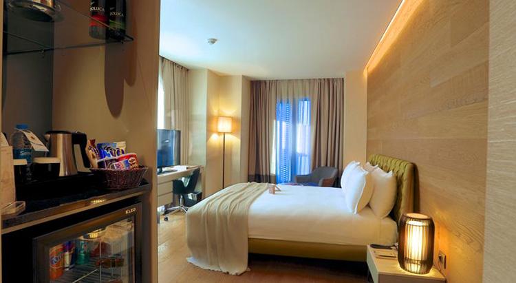Самые дешевые отели 5 звезд в центре Стамбула: Dosso Dossi Hotels & Spa Downtown.