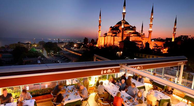 Отели Стамбула 3 звезды Султанахмет